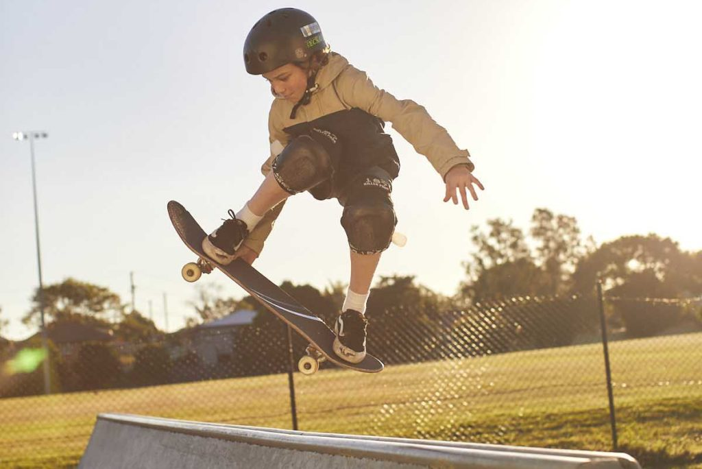 We the Differents - the skater. Image rights held by Queensland Department of Education, not for redistribution.